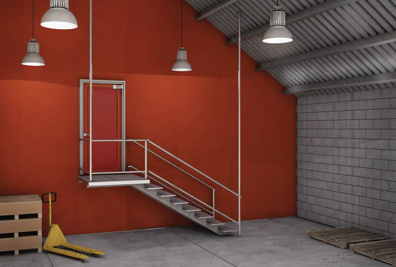 Passive Fire Barrier Curtains